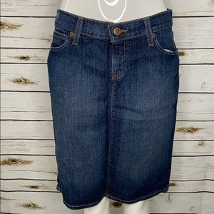 Old Navy women's denim straight skirt size 4